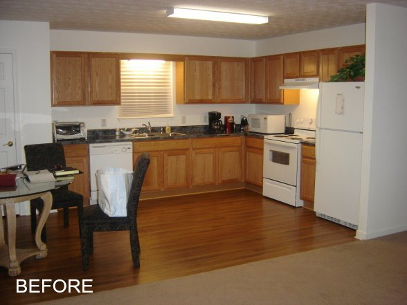 Kiki's Kitchen Before