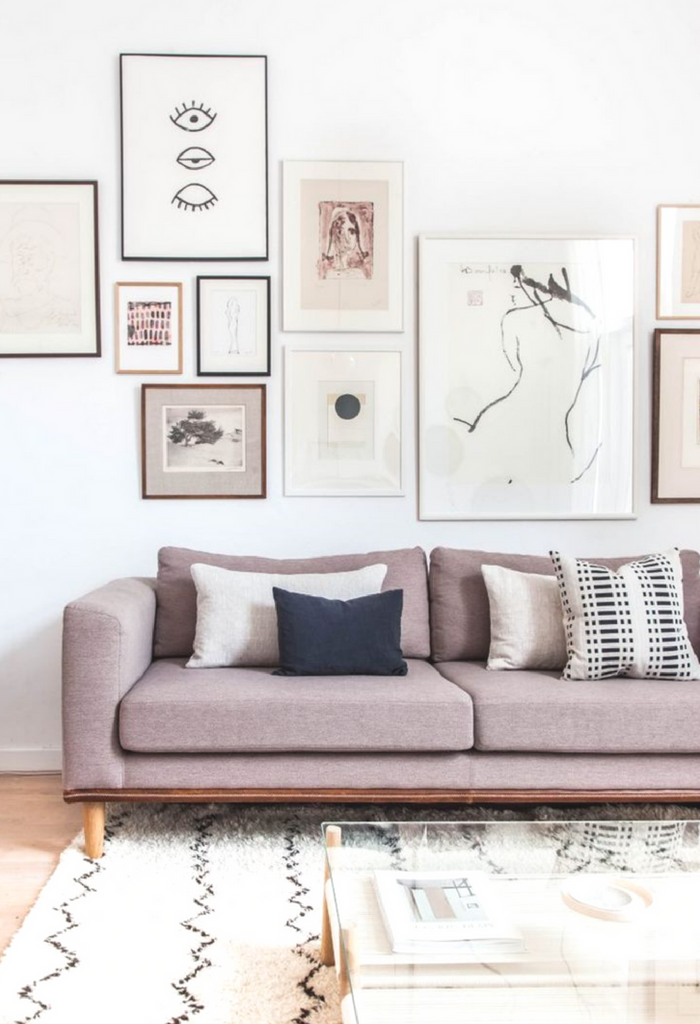 Large Wall Art Ideas for Neutral Decor Under $100