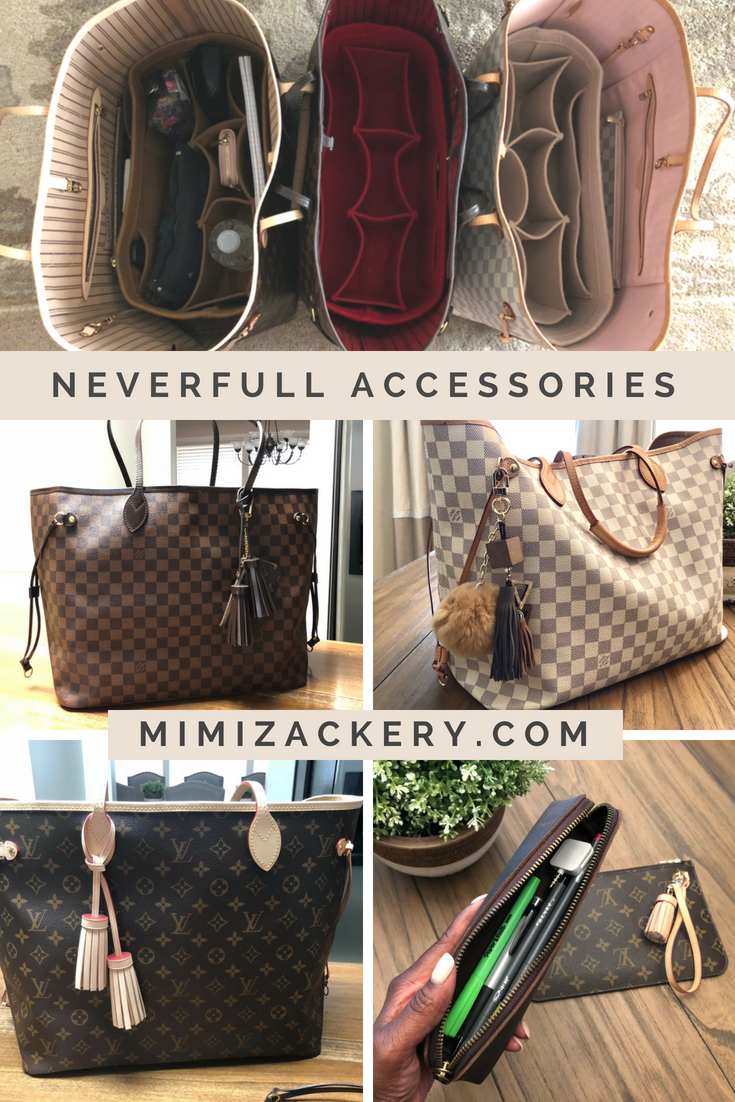 Accessories for the Louis Vuitton Neverfull